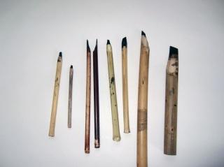 pensil kaligrafi